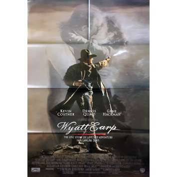 WYATT EARP Original Movie Poster - 27x40 in. - 1994 - Lawrence Kasdan, Kevin Costner