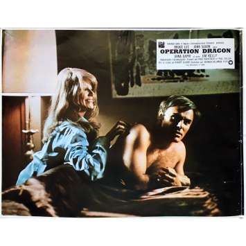 OPERATION DRAGON Photo de film N02 - 21x30 cm. - 1973 - Bruce Lee, Robert Clouse