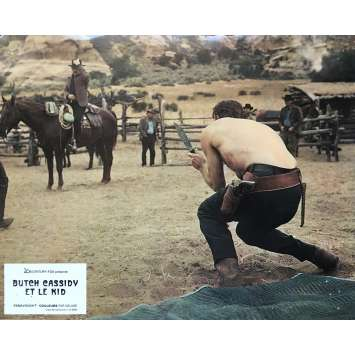 BUTCH CASSIDY AND THE SUNDANCE KID Original Lobby Card N04 - 9x12 in. - 1969 - George Roy Hill, Paul Newman, Robert Redford