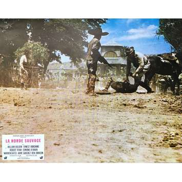 THE WILD BUNCH Original Lobby Card N05 - 9x12 in. - 1969 - Sam Peckinpah, Robert Ryan