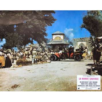 THE WILD BUNCH Original Lobby Card N02 - 9x12 in. - 1969 - Sam Peckinpah, Robert Ryan