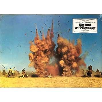 MY NAME IS NOBODY Original Lobby Card N02 - 9x12 in. - 1973 - Tonino Valerii, Henry Fonda, Terence Hill