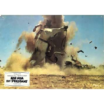 MON NOM EST PERSONNE Photo de film N03 - 21x30 cm. - 1973 - Henry Fonda, Terence Hill, Tonino Valerii