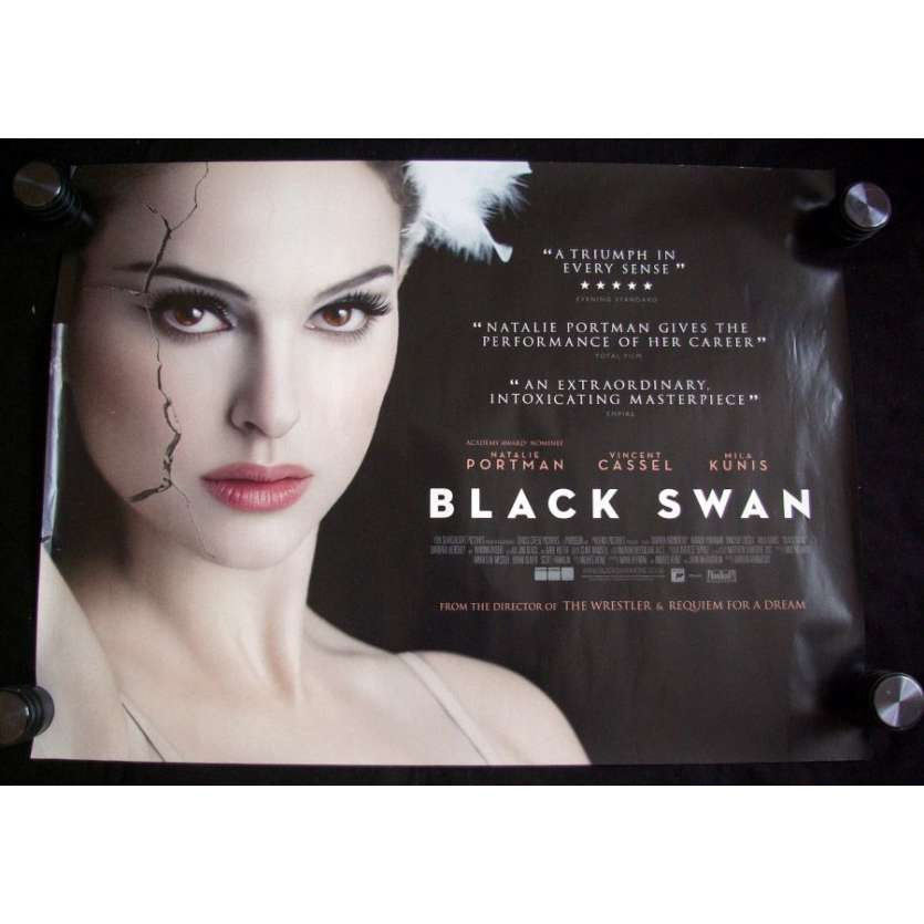 BLACK SWAN Nathalie Portman Affiche du film UK Type A