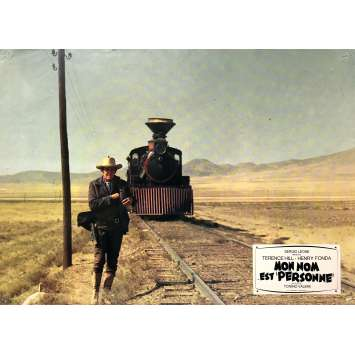 MY NAME IS NOBODY Original Lobby Card N06 - 9x12 in. - 1973 - Tonino Valerii, Henry Fonda, Terence Hill
