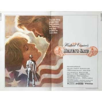 LA PORTE DU PARADIS Affiche de film US - 1980 - Michael Cimino