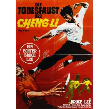 BIG BOSS Affiche de Film 58x84 - R1978 - Bruce Lee, Lo wei
