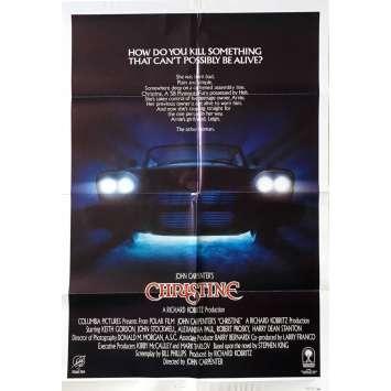 CHRISTINE 1sh Movie Poster - 1983 - John Carpenter, Stephen King