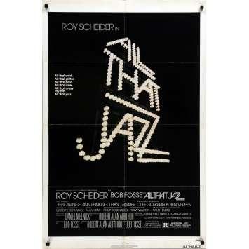 QUE LE SPECTACLE COMMENCE Affiche de film - 69x102 cm. - 1979 - Roy Sheider, Bob Fosse