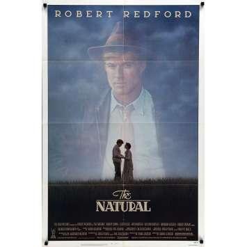 LE MEILLEUR Affiche de film - 69x102 cm. - 1984 - Robert Redford, Barry Levinson
