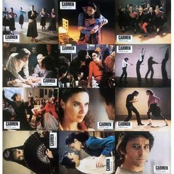 CARMEN Photos de film x12 - 21x30 cm. - 1984 - Julia Migenes, Francesco Rosi