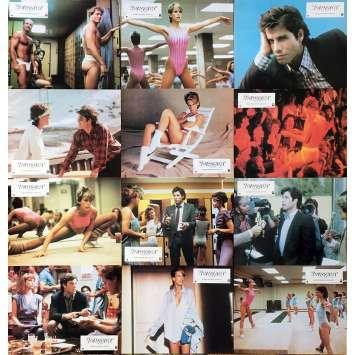 PERFECT Photos de film x12 - 21x30 cm. - 1985 - Jamie Lee Curtis, John Travolta, James Bridges