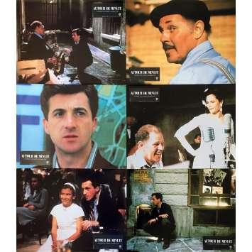 AUTOUR DE MINUIT Photos de film x7 - 21x30 cm. - 1986 - Dexter Gordon, Bertrand Tavernier