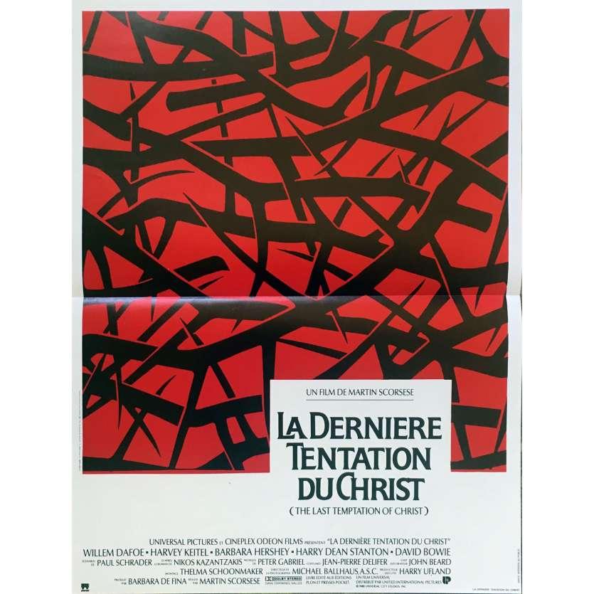 THE LAST TEMPTATION OF CHRIST Original Movie Poster - 15x21 in. - 1988 - Martin Scorsese, Willem Dafoe