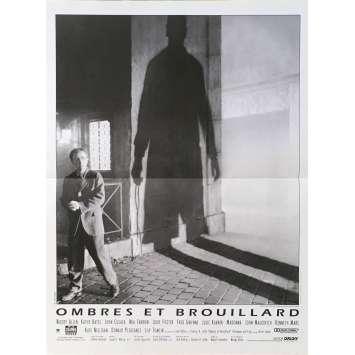 OMBRES ET BROUILLARDS Affiche de film - 40x60 cm. - 1991 - Mia Farrow, Woody Allen