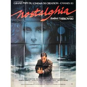 NOSTALGHIA Original Movie Poster - 47x63 in. - 2004 - Andrei Tarkovsky , Oleg Yankovskiy