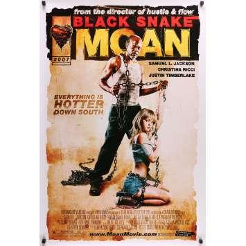 BLACK SNAKE MOAN Affiche de film - 69x102 cm. - 2006 - Christina Ricci, Craig Brewer