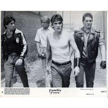 RUSTY JAMES Photo de film N02 - 20x25 cm. - 1983 - Matt Dillon, Francis Ford Coppola