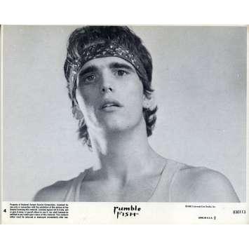 RUSTY JAMES Photo de film N03 - 20x25 cm. - 1983 - Matt Dillon, Francis Ford Coppola