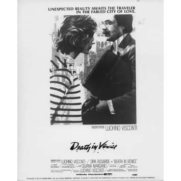 MORT A VENISE Photo de presse N02 - 20x25 cm. - 1971 - Dirk Bogarde, Luchino Visconti