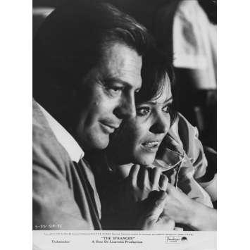 L'ETRANGER Photo de presse N01 - 20x25 cm. - 1967 - Marcello Mastroianni, Luchino Visconti