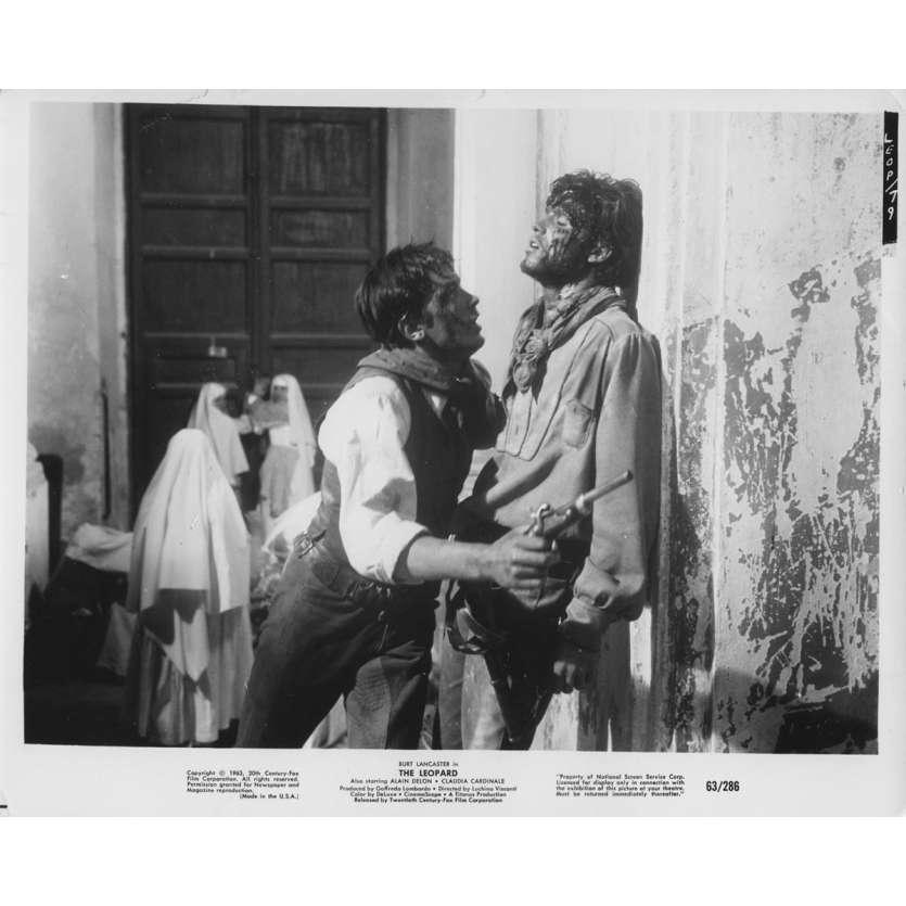 LE GUEPARD Photo de presse N02 - 20x25 cm. - 1963 - Alain Delon, Luchino Visconti