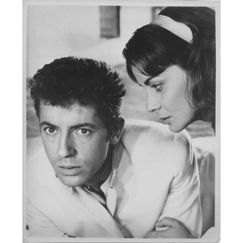 SENSO Photo de presse N01 - 20x25 cm. - 1954 - Farley Granger, Luchino Visconti
