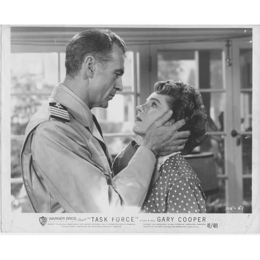 HORIZONS EN FLAMMES Photo de presse N01 - 20x25 cm. - 1949 - Gary Cooper, Delmer Daves