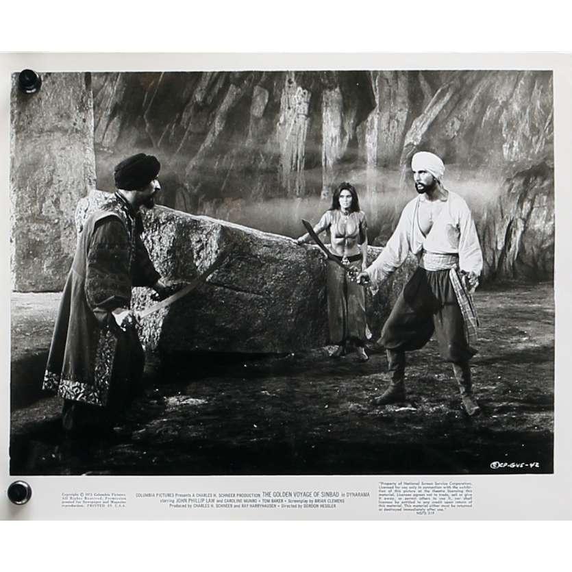 THE GOLDEN VOYAGE OF SINBAD Original Movie Still N04 - 8x10 in. - 1973 - Ray Harryhausen, Caroline Munro