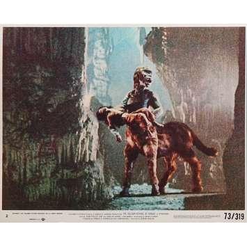 THE GOLDEN VOYAGE OF SINBAD Original Lobby Card N06 - 8x10 in. - 1973 - Ray Harryhausen, Caroline Munro