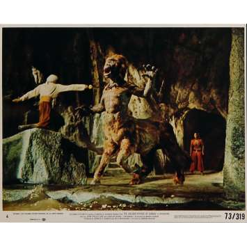THE GOLDEN VOYAGE OF SINBAD Original Lobby Card N05 - 8x10 in. - 1973 - Ray Harryhausen, Caroline Munro