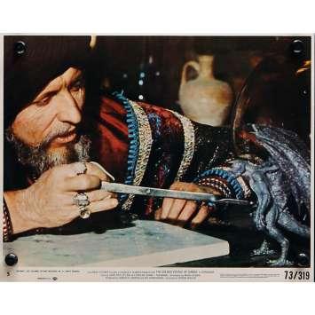THE GOLDEN VOYAGE OF SINBAD Original Lobby Card N04 - 8x10 in. - 1973 - Ray Harryhausen, Caroline Munro