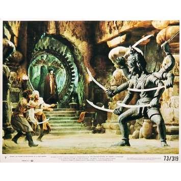 LE VOYAGE FANTASTIQUE DE SINBAD Photo de film N02 - 20x25 cm. - 1973 - Caroline Munro, Ray Harryhausen