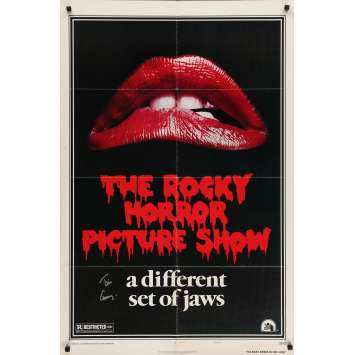 THE ROCKY HORROR PICTURE SHOW Original Signed Poster - 27x40 in. - 1975 - Jim Sharman, Tim Curry
