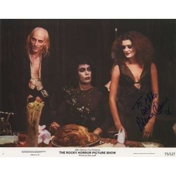 THE ROCKY HORROR PICTURE SHOW Original Signed Photo - 11x14 in. - 1975 - Jim Sharman, Tim Curry