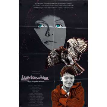 LADYHAWKE Original Movie Poster - 27x40 in. - 1985 - Richard Donner, Michelle Pfeiffer