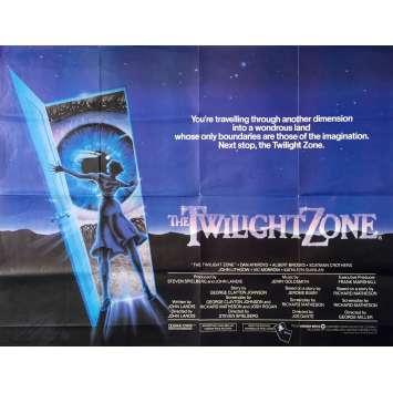 LA QUATRIEME DIMENSION Affiche de film - 76x102 cm. - 1983 - Dan Aycroyd, Joe Dante
