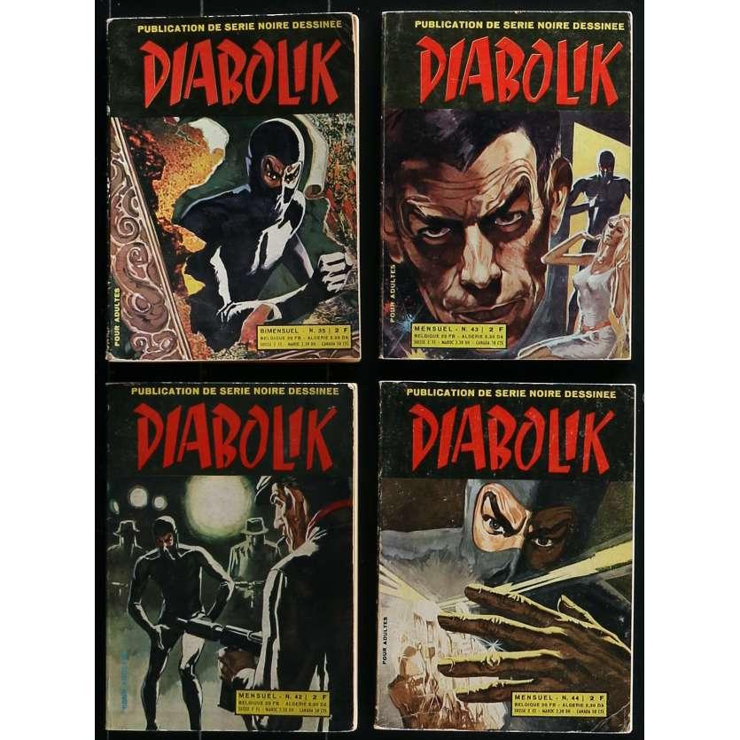 diabolik comic book lot 7x9 in