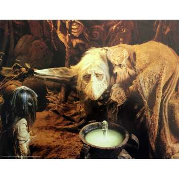 DARK CRYSTAL Original Lobby Card N05 - 11x14 in. - 1982 - Jim Henson, Franck Oz