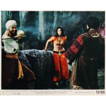 THE GOLDEN VOYAGE OF SINBAD Original Lobby Card N01 - 8x10 in. - 1973 - Ray Harryhausen, Caroline Munro