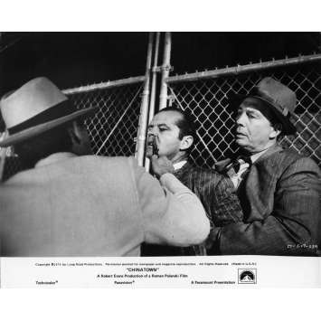 CHINATOWN Photo de presse N05 - 20x25 cm. - 1974 - Jack Nicholson, Roman Polanski