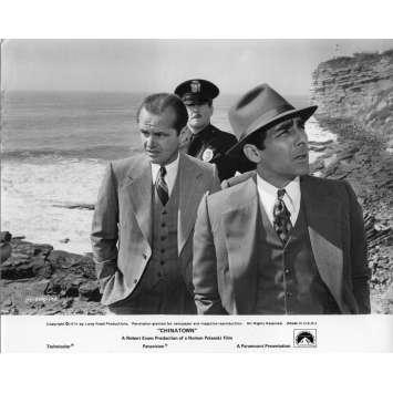 CHINATOWN Photo de presse N03 - 20x25 cm. - 1974 - Jack Nicholson, Roman Polanski