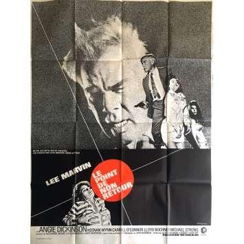 LE POINT DE NON-RETOUR Affiche de film - 120x160 cm. - 1967 - Lee Marvin, John Boorman