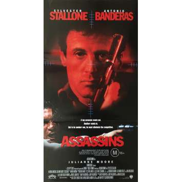 ASSASSINS Original Movie Poster - 13x30 in. - 1995 - Richard Donner, Sylvester Stallone