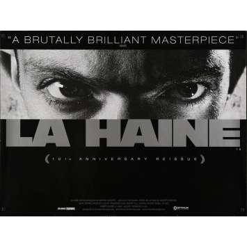 LA HAINE Affiche de film Anglaise - 76x102 cm - Vincent Cassel, Kassovitz
