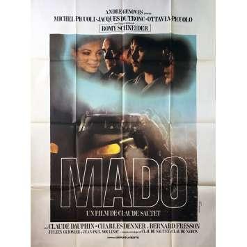 MADO Original Movie Poster - 47x63 in. - 1976 - Claude Sautet, Michel Piccoli