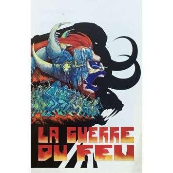 LA GUERRE DU FEU Synopsis - 18x24 cm. - 1981 - Ron Perlman, Jean-Jacques Annaud