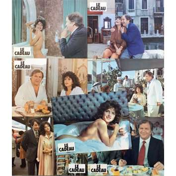 LE CADEAU Photos de film x7 - 21x30 cm. - 1982 - Clio Goldsmith, Michel Lang