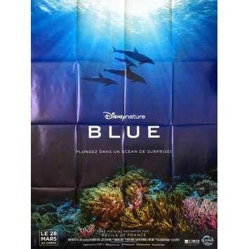 BLUE Affiche de film - 120x160 cm. - 2018 - Cécile de France, Walt Disney