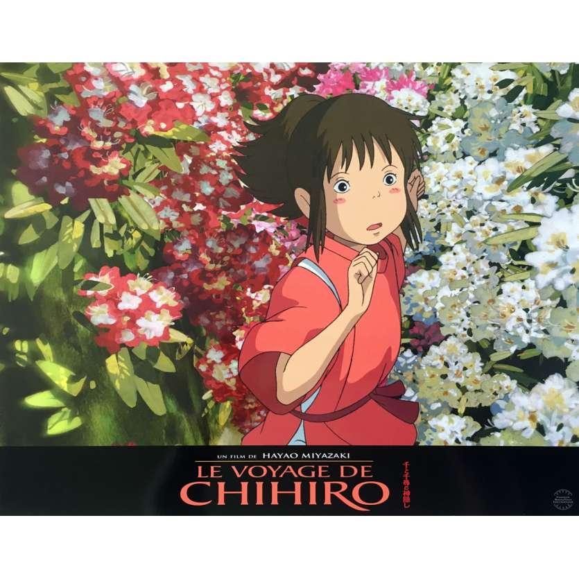 SPIRITED AWAY Original Lobby Card N05 - 12x15 in. - 2011 - Hayao Miyazaki, Miyu Irino